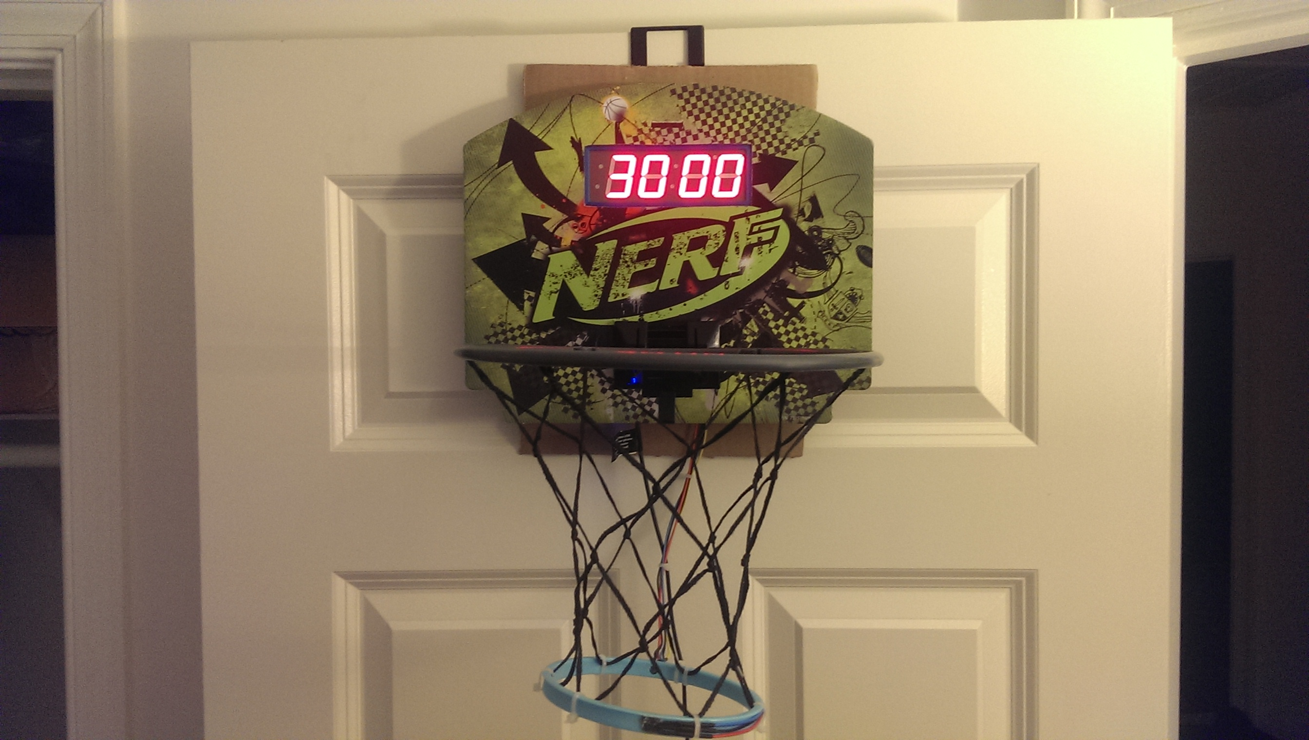 How to build an arcade style basketball game with arduino for How to build a basketball goal